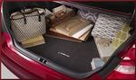 Carpet Trunk Mat - Black (Gas Engine Only)