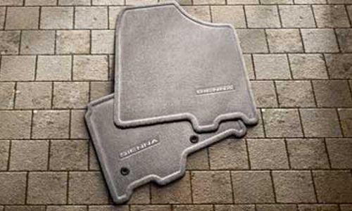 Carpet Floor Mats, 8-pc set, Fixed Console, Bisque