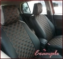 Clazzio Quilted Type Seat Covers WITH REAR 60/40 FOLD FLAT SEAT