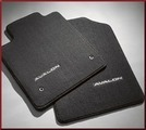 Carpeted Floor Mats - Black 4 Pc.