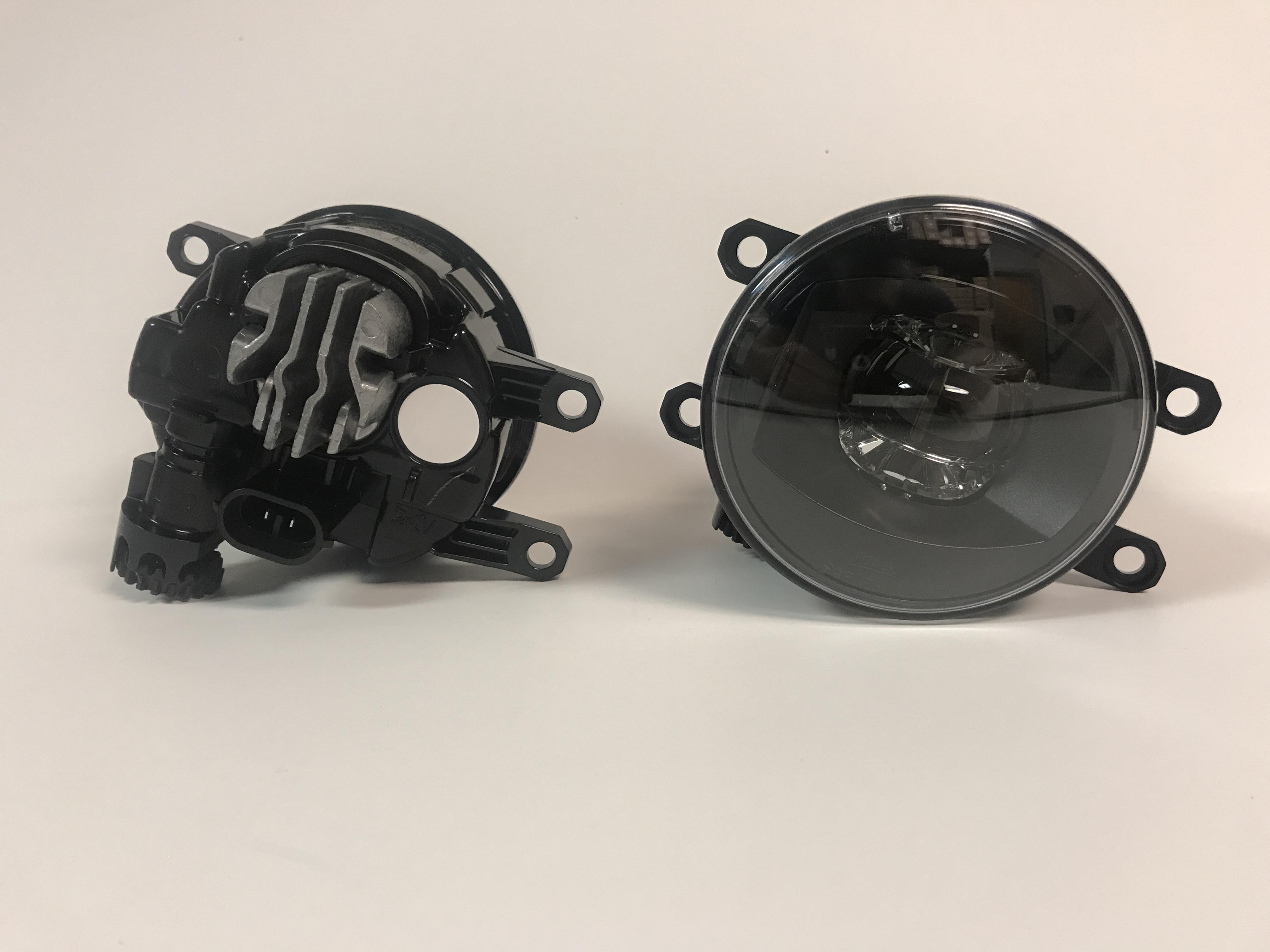 Fog Light Kit LED - Black