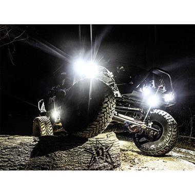 A-Series White LED Rock Light Kit