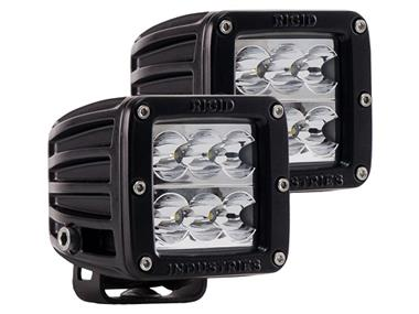 Dually D2 Wide Beam LED Light - Set of 2