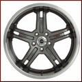 "TRD 19"" 5-Spoke Alloy Wheel"