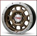 "TRD 16"" x 7.5"" Off-Road Beadlock Style Wheels - Bronze"