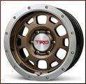 "TRD 16"" x 7.5"" Off-Road Beadlock Style Wheels - Bronze"