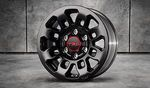 "TRD Pro 16"" 9-Spoke Black Alloy Wheel Special Edition"