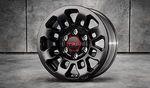 "TRD Pro 16"" 9-Spoke Black Alloy Wheel Special Edition"