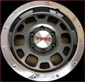 "TRD 16"" Off-Road Beadlock-Style Wheels - Graphite"