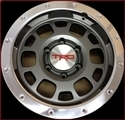 "TRD 16"" Off-Road Beadlock-Style Wheels - Graphite"