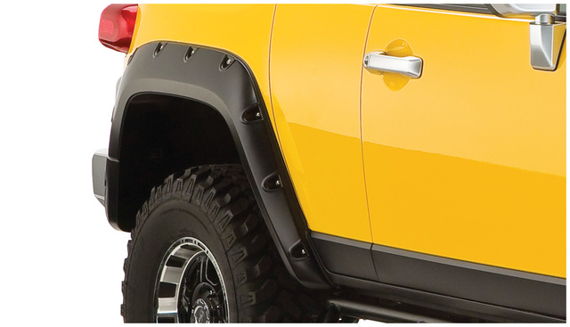 Bushwacker Pocket Style Flare Set - FJ Cruiser