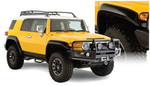 Bushwacker Extend-A-Fender Flare Set - 07+ FJ Cruiser