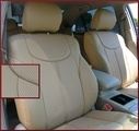 Clazzio Perforated Leather Seat Covers - L, LE