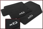 Carpet Floor Mats, 4-pc set