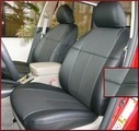 Clazzio Perforated Leather Seat Covers-Base Mdl NO 3RD ROW COVER