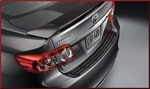 Rear Bumper Protector - Black Injection Molded