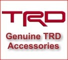TRD High Performance Brake Pads - Big Brake Kit Size