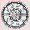 """18"""" 10-Spoke TRD Silver Wheel"""