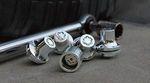 Clear Chrome Wheel Locks - Factory Alloy