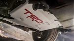 TRD Pro Front Skid Plate with Red inlay