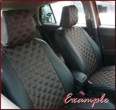 Clazzio Quilted Type Seat Covers 8 PSGR CE,  Shipping Included