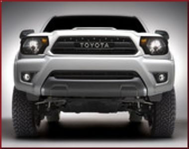 TRD Pro Toyota Grille
