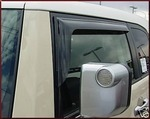 Vent Visors - 2 Door