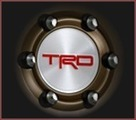 "TRD Center Cap for 16"" Beadlock Wheels"