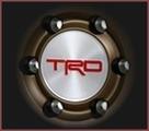 """TRD Center Cap for 16"""" Beadlock Wheels"""