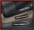 Carpeted TRD Floor Mats - Charcoal