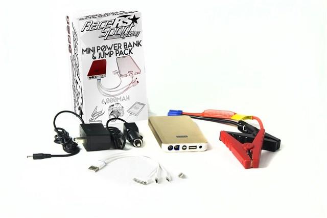 6,000mAh Mini Power Bank Jump Pack