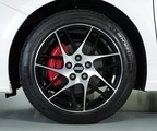 "18"" BBS Black 7-Spoke Diamond-Cut Alloy Wheel"