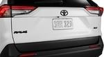 RAV4 Blackout Emblem Overlays XLE 2WD