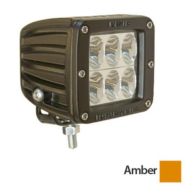 Dually D2 Amber Driving LED Light - Set of 2