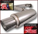 Axle Back Exhaust