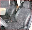Clazzio Suede Type Seat Covers Two, Three & Four