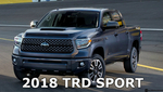 2018 TRD Sport Tundra Grille