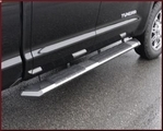 Stealth Step Boards - Stainless Steel