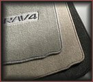Carpeted Floor Mats -  Ash (w 3rd row seat)