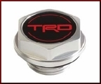 TRD Oil Filler Cap - Forged Aluminum Construction