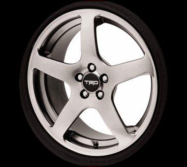 """TRD 18"""" 5-Spoke Wheel Silver Finish"""