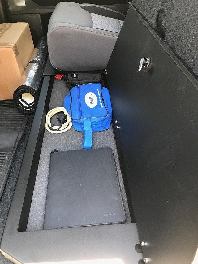 2014-2018 Toyota Tundra Crewmax Aluminum Under Seat Long Box
