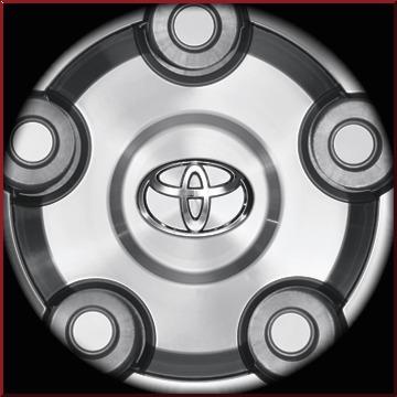 """20"""" Alloy Wheel Center Cap"""