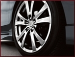 "TRD Prius PLUS 17"" Split 5-Spoke Forged Wheel"