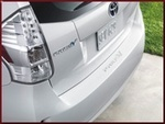 Rear Bumper Applique - Clear