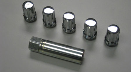 TRD Spline-Drive Conical-Seat 14mm Lug Nuts - 5-Piece Set
