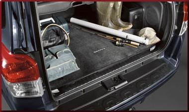 Cargo Mat, black for models with slide deck