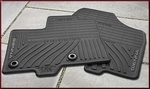 All-Weather Floor Mats - 8-Piece Black