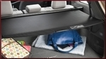 Retractable Cargo Cover - Black