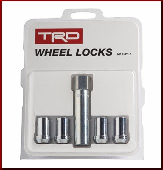 TRD Wheel Lock Set